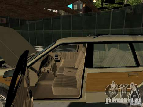 Oldsmobile Cutlass Cruiser 1993 для GTA San Andreas вид сзади