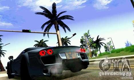 Noble M600 для GTA San Andreas салон
