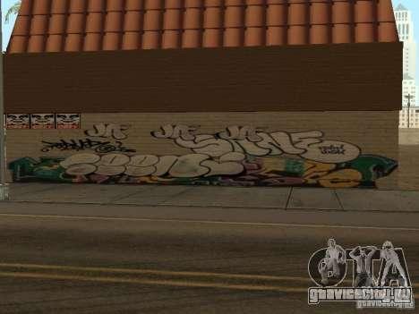 Лос-Сантос город граффити легенд v1 для GTA San Andreas второй скриншот