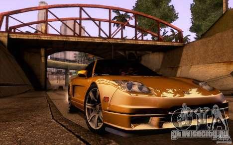 Acura NSX Targa для GTA San Andreas вид сбоку