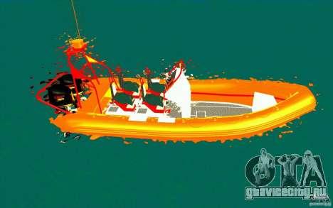 Inferno orange для GTA San Andreas вид слева