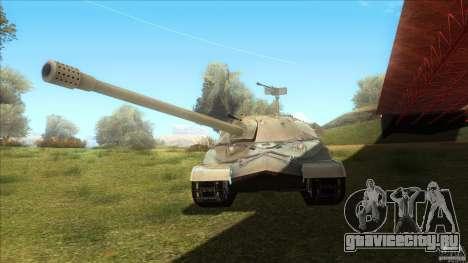 IS-7 Heavy Tank для GTA San Andreas вид сзади слева