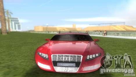 Audi Nuvolari Quattro для GTA Vice City вид изнутри