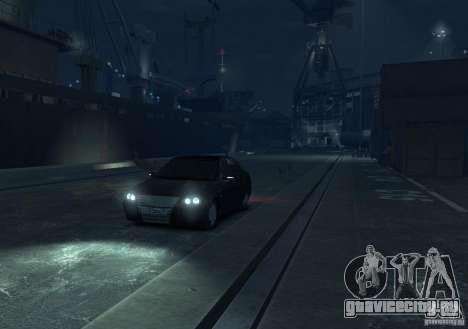 Лада Приора хетчбэк для GTA 4 вид справа