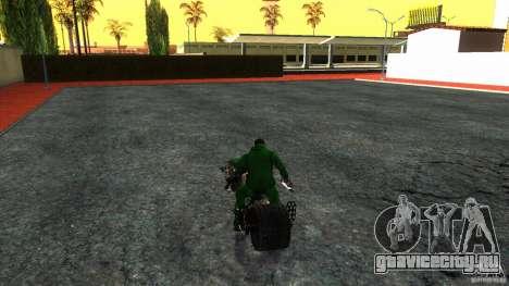 Batpod HQ для GTA San Andreas вид справа