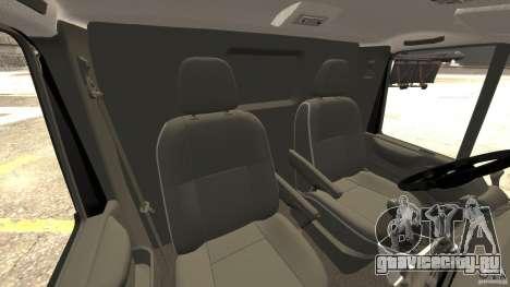 Ford Transit NY Airport Service [ELS] для GTA 4 вид изнутри