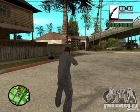 Chromegun для GTA San Andreas третий скриншот