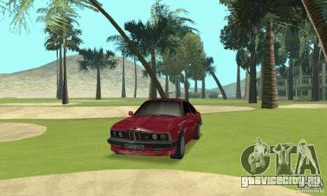 BMW M6 E24 stock для GTA San Andreas