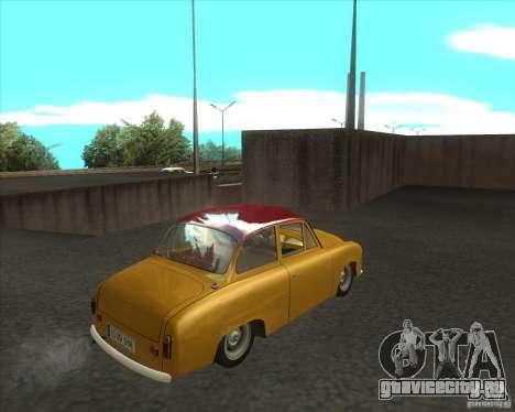 Syrena 104 для GTA San Andreas вид сзади слева