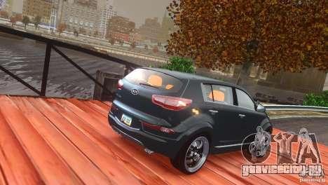 Kia Sportage 2010 v1.0 для GTA 4 вид сбоку