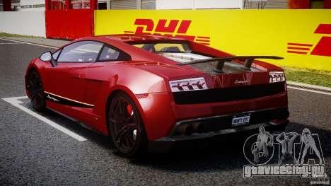 Lamborghini Gallardo LP570-4 Superleggera 2011 для GTA 4 вид сбоку