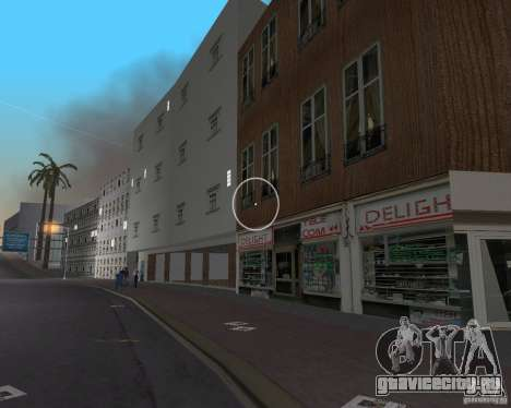 New Downtown: Shops and Buildings для GTA Vice City