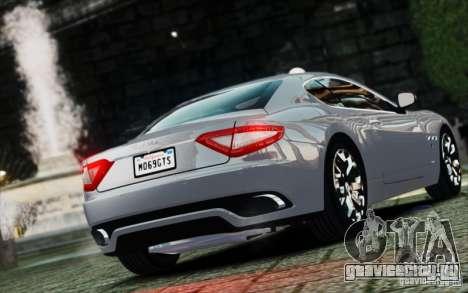 Maserati Gran Turismo S 2009 для GTA 4 вид слева
