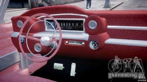 Cadillac Eldorado 1959 (Lowered) для GTA 4 вид справа