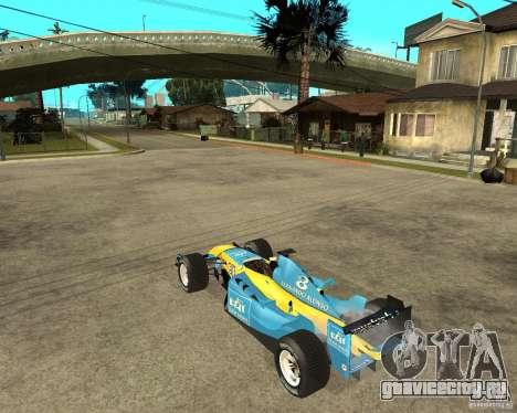 Renault F1 для GTA San Andreas вид слева