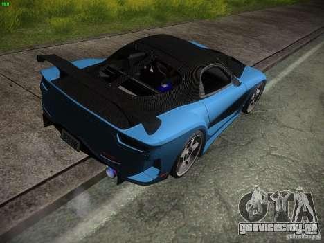 Mazda RX 7 Veil Side для GTA San Andreas вид справа