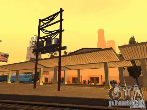 Unity Station для GTA San Andreas шестой скриншот