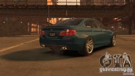 BMW 535i M-Sports для GTA 4 вид слева