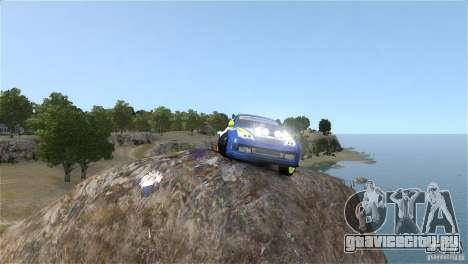 Subaru Impreza WRX STI Rallycross BFGoodric для GTA 4 вид сзади