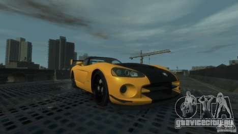 Dodge Viper SRT-10 ACR 2009 для GTA 4