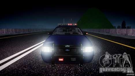 Ford Crown Victoria Homeland Security [ELS] для GTA 4 двигатель