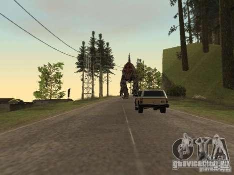Dinosaurs Attack mod для GTA San Andreas