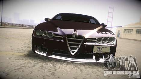 Alfa Romeo Brera Ti для GTA San Andreas вид сверху