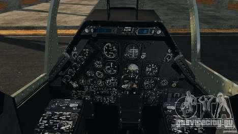 Bell AH-1 Cobra для GTA 4 вид сзади