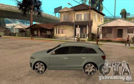 Audi Q7 V12 TDI 2011 для GTA San Andreas вид слева
