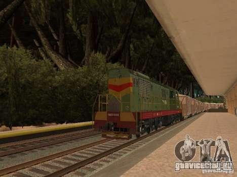 Лес в Las Venturas для GTA San Andreas седьмой скриншот