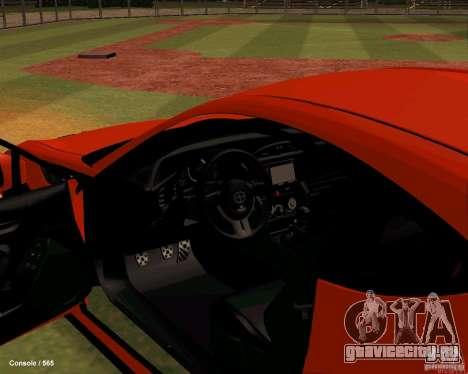 Scion FR13 для GTA San Andreas вид сзади