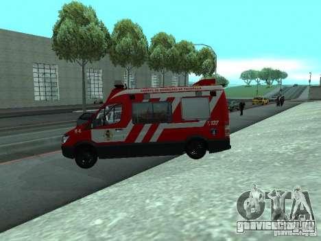 Mercedes-Benz Sprinter R-4 для GTA San Andreas вид слева