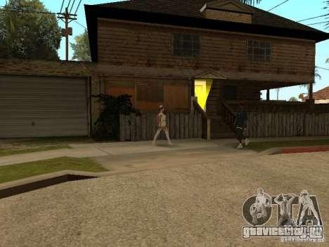 Girlz Medic in Grove для GTA San Andreas второй скриншот