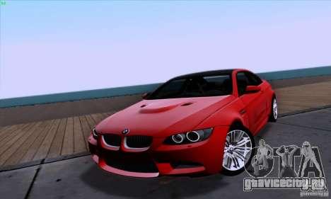 BMW M3 E92 v1.0 для GTA San Andreas