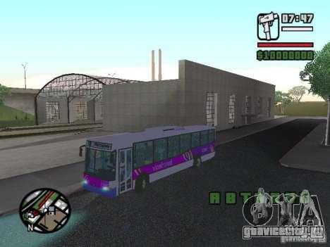 Marcopolo Viale III для GTA San Andreas вид справа
