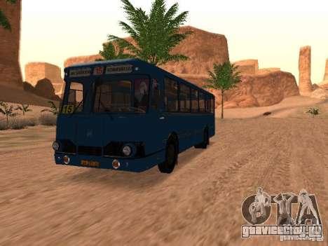 ЛиАЗ 677 для GTA San Andreas двигатель