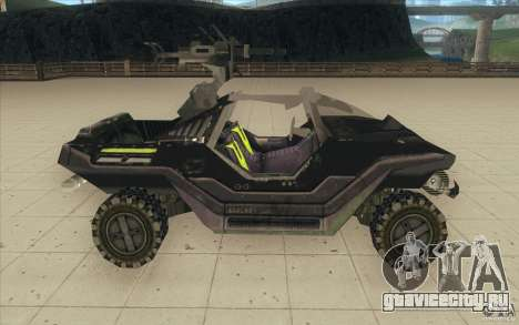 Halo Warthog для GTA San Andreas вид сзади