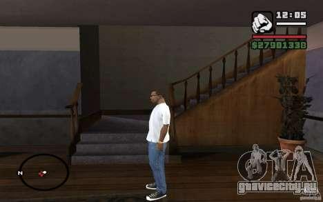 Узкие джинсы для GTA San Andreas второй скриншот