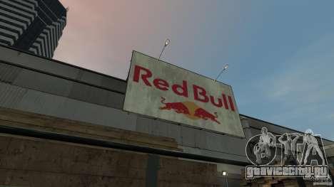 Red Bull Factory для GTA 4 четвёртый скриншот