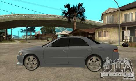 TOYOTA MARK II GT для GTA San Andreas вид слева