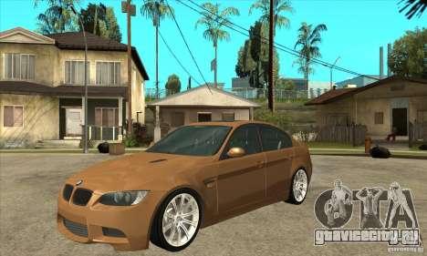 BMW E90 M3 для GTA San Andreas