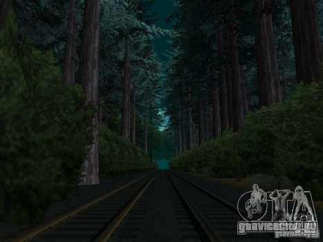 Лес в Las Venturas для GTA San Andreas четвёртый скриншот