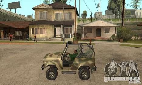 УАЗ 3150 шалун для GTA San Andreas вид слева