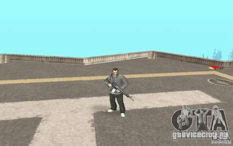 Анимации из GTA IV для GTA San Andreas второй скриншот