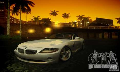 BMW Z4 для GTA San Andreas вид слева