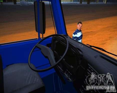 КамАЗ 65117 Зерновоз для GTA San Andreas