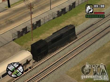 Поезд combine из игры Half-Life 2 для GTA San Andreas вид сзади
