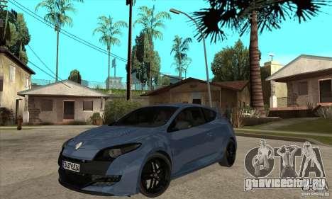 Renault Megane 3 Sport RS 2010 для GTA San Andreas