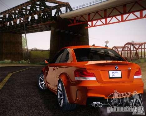 BMW 1M v2 для GTA San Andreas вид слева