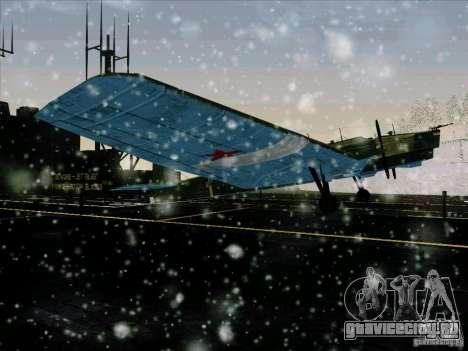 ТБ-3 для GTA San Andreas вид справа